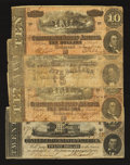 Confederate Notes:Group Lots, Mixed Lot of Four February 17, 1864 Notes.. ... (Total: 4 notes)