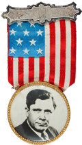 Political:Ribbons & Badges, Wendell Willkie: Old-Fashioned Badge. ...