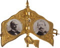 Political:Presidential Relics, McKinley & Hobart: Mechanical Flag....