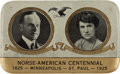 Political:Presidential Relics, Calvin Coolidge: Rare President and Mrs. Coolidge Pocket Mirror....