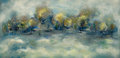 Texas, DAVID BROWNLOW (American, 1915-2006). Trees in Winter. Oilon artist's board. 24 x 48 inches (61.0 x 121.9 cm). Signed l...