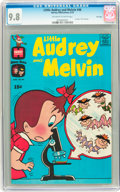 Bronze Age (1970-1979):Cartoon Character, Little Audrey and Melvin #46 File Copy (Harvey, 1970) CGC NM/MT 9.8Off-white to white pages....