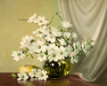 Paintings, A. D. GREER (American, 1904-1998). Dogwoods. Oil on canvas. 24 x 30 inches (61.0 x 76.2 cm). Signed lower left: A.D. G...