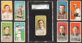"Baseball Cards:Lots, 1909-11 T206 White Borders Collection (101) With SGC-Graded ""MAGIE"" Error...."