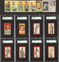 Baseball Cards:Lots, 1909-11 T205, T206, T209 and T210 Tobacco Collection (142) WithCobb and T210-Series 8 Cards. ...
