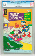 Bronze Age (1970-1979):Cartoon Character, Walt Disney's Comics and Stories #425 File Copy (Gold Key, 1976)CGC NM/MT 9.8 Off-white to white pages....