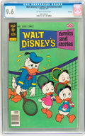 Bronze Age (1970-1979):Cartoon Character, Walt Disney's Comics and Stories #443 File Copy (Gold Key, 1977)CGC NM+ 9.6 Off-white to white pages....