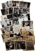 Movie/TV Memorabilia:Photos, Humphrey Bogart and Others Assorted Vintage Original MovieStills.... (Total: 33 Items)