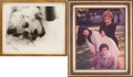 Movie/TV Memorabilia:Photos, Lucille Ball Personal Photos with Rare Images.... (Total: 2 )