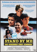 "Movie Posters:Adventure, Stand By Me (Columbia, 1986). German A1 (23.25"" X 33""). Adventure....."