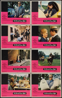 """The Thomas Crown Affair (United Artists, 1968). Lobby Card Set of 8 (11"""" X 14""""). Crime. ... (Total: 8 Items)"""
