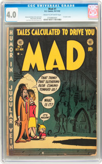 Mad #1 (EC, 1952) CGC VG 4.0 Cream to off-white pages