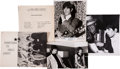 Music Memorabilia:Autographs and Signed Items, Rolling Stones Related - Keith Richards Signed Photo with VintagePress Documents.... (Total: 5 )