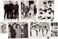 Music Memorabilia:Autographs and Signed Items, Manfred Mann, Dusty Springfield, and Merseybeats Signed Photos....(Total: 8 )