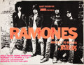 Music Memorabilia:Posters, The Ramones Autographed Rocket to Russia UK Concert Poster(1977)....