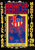 Music Memorabilia:Posters, The Beatles Final Concert Candlestick Park Poster (1966)....