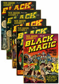 Golden Age (1938-1955):Horror, Black Magic #2-6 Group (Prize, 1950-51) Condition: AverageGD/VG.... (Total: 5 Comic Books)