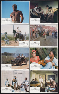 "Leadbelly Lot (Paramount, 1976). Lobby Card Set of 8, and Four Additional Sets of Lobbies (32) (11"" X 14""). Bl..."