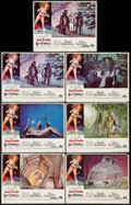 "Movie Posters:Science Fiction, Barbarella (Paramount, 1968). Lobby Cards (7) (11"" X 14""). ScienceFiction.. ... (Total: 7 Items)"