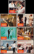 "Movie Posters:James Bond, Casino Royale (Columbia, 1967). Lobby Cards (7) (11"" X 14""). James Bond.. ... (Total: 7 Items)"