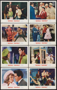 """Double Trouble (MGM, 1967). Lobby Card Set of 8 (11"""" X 14""""). Elvis Presley. ... (Total: 8 Items)"""