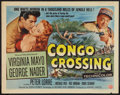 "Movie Posters:Adventure, Congo Crossing Lot (Universal International, 1956). Half Sheets (3)(22"" X 28"") Style B. Adventure.. ... (Total: 3 Items)"