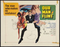 "Movie Posters:Adventure, Our Man Flint Lot (20th Century Fox, 1966). Half Sheets (2) (22"" X28""). Adventure.. ... (Total: 2 Items)"