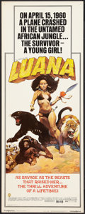 "Movie Posters:Adventure, Luana Lot (Capital Productions, 1973). Inserts (5) (14"" X 36"").Adventure.. ... (Total: 5 Item)"