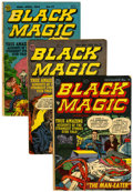 Golden Age (1938-1955):Horror, Black Magic Group (Prize, 1952-54) Condition: Average GD....(Total: 13 Comic Books)