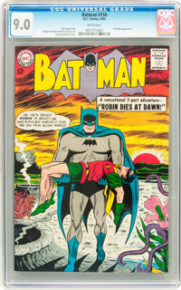 Batman #156 (DC, 1963) CGC VF/NM 9.0 White pages