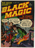 Golden Age (1938-1955):Horror, Black Magic #1 (Prize, 1950) Condition: GD/VG....