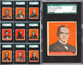 "Non-Sport Cards:Sets, 1932 R114 U.S. Caramels ""Presidents"" Complete Set (31) WithExtremely Rare McKinley - #2 on the SGC Set Registry! ..."