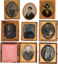 Photography, Group of Eight Vintage Photographs....