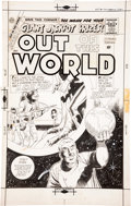 Original Comic Art:Covers, Dick Giordano Out of This World #14 Cover Original Art(Charlton, 1959)....