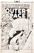 Original Comic Art:Covers, Charles Nicholas and Vince Alascia Outer Space #22 CoverOriginal Art (Charlton, 1959)....