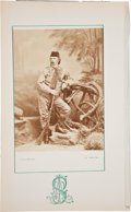 Western Expansion:Cowboy, George Armstrong Custer: A Rare and Important OriginalPhotograph....