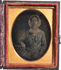 Political:3D & Other Display (pre-1896), Margaret Taylor: Ninth-Plate Daguerreotype of the First Lady. ...