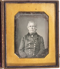 Zachary Taylor: Half-Plate Daguerreotype from the Taylor Family