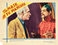 "Movie Posters:Horror, The Mask of Fu Manchu (MGM, 1932). Lobby Card (11"" X 14"").. ..."