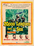 "Movie Posters:Science Fiction, 20,000 Leagues Under the Sea (Buena Vista, 1954). Poster (30"" X40"").. ..."