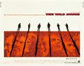 """Movie Posters:Western, The Wild Bunch (Warner Brothers, 1969). Half Sheet (22"""" X 28"""").. ..."""