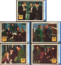 "Movie Posters:Mystery, The Hound Of The Baskervilles (20th Century Fox, 1939). CGC GradedLobby Cards (5) (11"" X 14"").. ... (Total: 5 Items)"