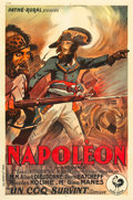 "Movie Posters:War, Napoleon (Pathe Rural / Pathe Natan,1929). French Affiche (30"" X45.5"").. ..."