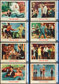 "Viva Las Vegas (MGM, 1964). CGC Graded Lobby Card Set of 8 (11"" X 14""). ... (Total: 8 Items)"