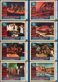 """Movie Posters:Science Fiction, The Angry Red Planet (American International, 1960). CGC GradedLobby Card Set of 8 (11"""" X 14"""").. ... (Total: 8 Items)"""