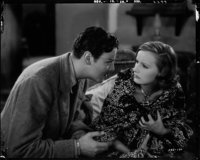 "Great Garbo and Nils Asther in ""Wild Orchids"" (MGM, 1929). Kodak Nitrate Negative (7.75"" X 9.75"")..."