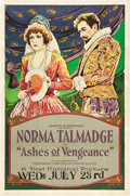 "Movie Posters:Drama, Ashes of Vengeance (First National, 1923). One Sheet (27"" X 41"")....."