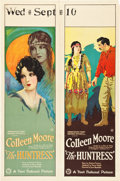 "Movie Posters:Romance, The Huntress (First National, 1923). Double Panel One Sheet (27"" X41"").. ..."