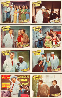 """The Trap (Monogram, 1946). Lobby Card Set of 8 (11"""" X 14""""). ... (Total: 8 Items)"""