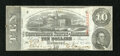 Confederate Notes:1863 Issues, T59 $10 1863.. . ...
